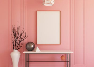 Pink Room color by Sequoia paint
